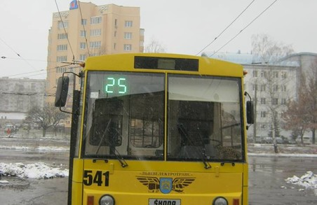 На вулиці Львова виїде ще один новий тролейбус (ФОТО)