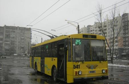 Від завтра вулицями Львова курсуватиме відновлений тролейбус
