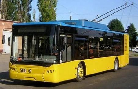 Перший з п'яти новеньких тролейбусів вже в «Львівелектротрансі»