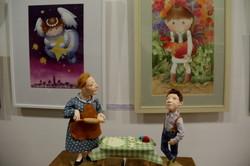 """У львівській галереї """"Зелена канапа"""" триває традиційна «Різдвяна виставка» (ФОТО)"""