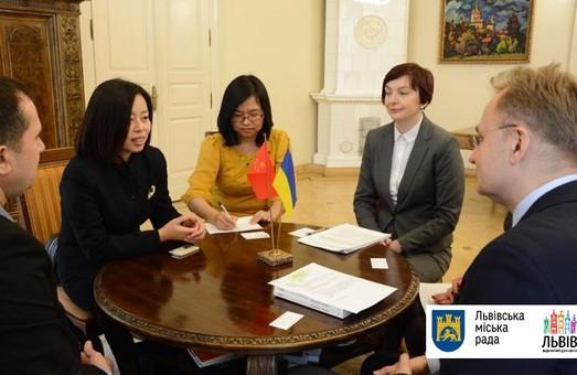 Львів співпрацюватиме з Китаєм