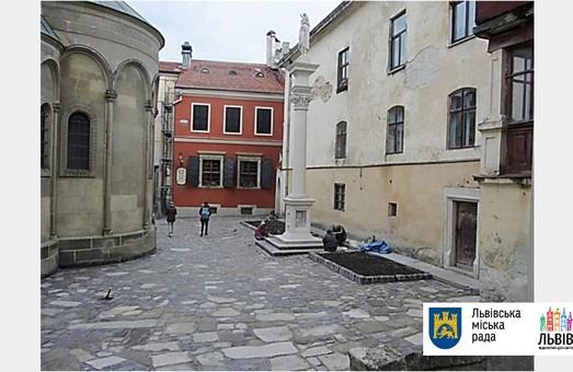 У Львові закінчили ремонтні роботи у Вірменському дворику