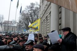 Сьогодні під ЛОДА вимагали відставки Авакова (ФОТО)