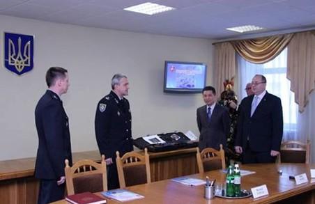 Корейці подарували Львівщині лазерну зброю
