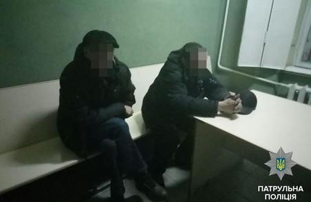 У Львові п'яний водій та його пасажир побилися з патрульними