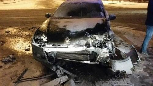 Під час ДТП у Львові постраждав світлофор