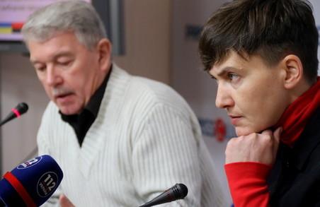 На прес-конференції Надії Савченко у Львові на журналістів чекала жорстка цензура (ФОТО)