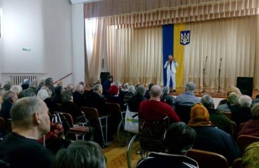 У Львівському геріатричному пансіонаті влаштували святковий концерт