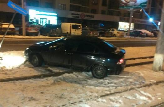 Водій-втікач влаштував нічну погоню у Львові