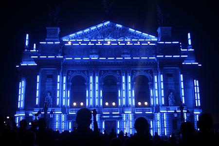У центрі Львова 31 грудня проведуть світлове шоу
