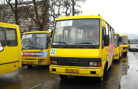 Сьогодні вихідний день для водіїв львівських маршруток