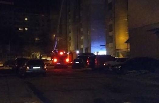 У Львові трапилася перша пожежа 2017