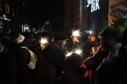 Як провели Новий рік на площі Ринок? (ФОТО)
