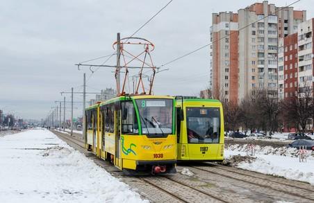 """""""Львівелектротранс"""" призначив додаткові нічні трамваї на 6 і 7 січня"""