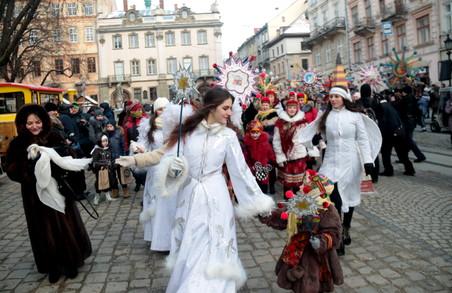 У Львові люті морози не стали на заваді навіть у наймолодших звіздарів (ФОТО)