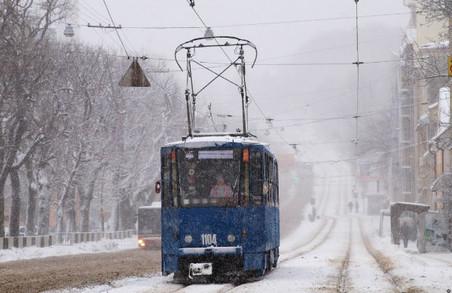 Сьогодні у Львові на маршруті працюють 100 одиниць електротранспорту