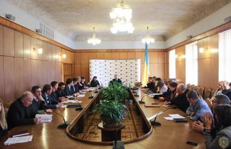 У Львівській облдержадміністрації відбулась перша сесія стратегічного планування