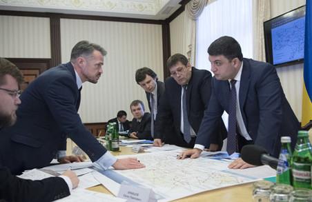 Володимир Гройсман назвав створення автомагістралі Львів – Одеса пріоритетним проектом року