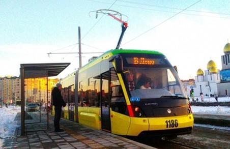 Завтра у Львові на трамвайному маршруті №8 запровадять експеримент