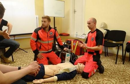 На Львівщині польські медики навчали українських лікарів