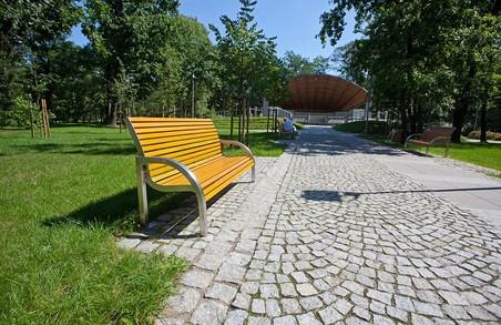 Львівський парк отримає доріжку з бруківки