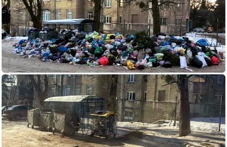 У Львові залишились очистити 23 майданчики зі сміттям, - ЛОДА