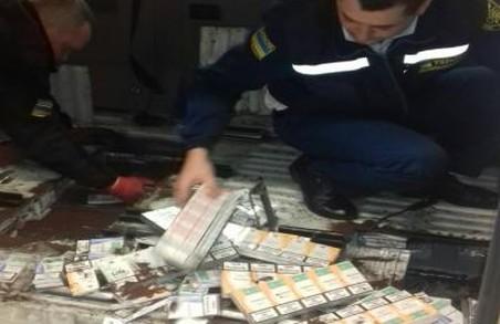 Львівські прикордонники затримали 6 тисяч пачок контрабандних цигарок