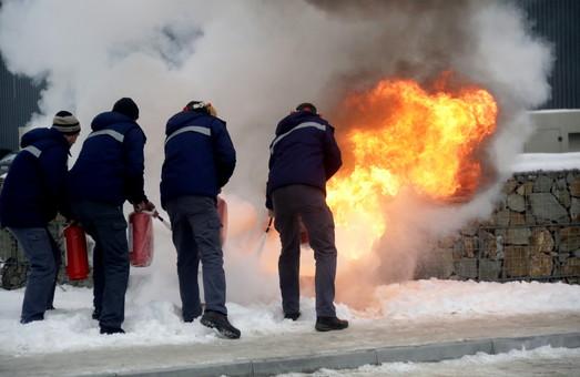 Як на Львівщині відбувались показові навчання сил цивільного захисту (ФОТО)