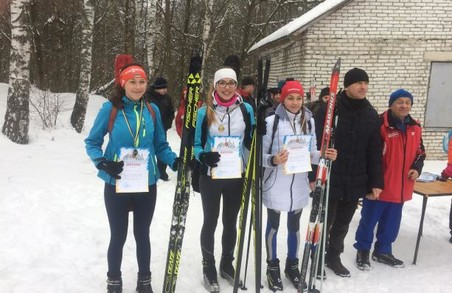 У Новояворівську визначились чемпіони області з біатлону