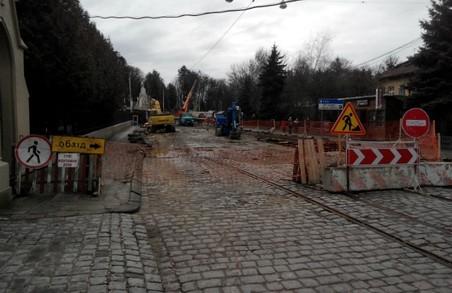 Для проїзду транспорту у Львові відкрили вулицю Мечникова