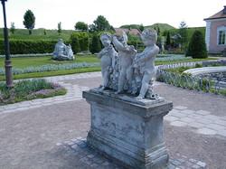 Скульптура у Золочівському замку