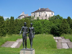 Скульптура в Олесько