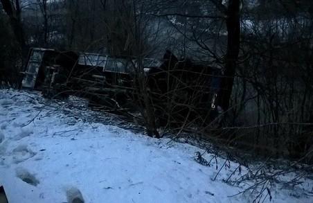 Страшна ДТП на Закарпатті: рейсовий автобус з пасажирами зірвався у річку. Є госпіталізовані