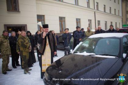 Бійцям АТО передадуть автомобіль від несподіваного мецената із Західної України