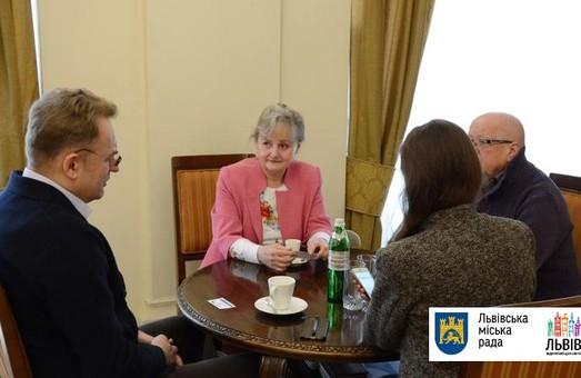 До Львова приїхала депутат Європейського Парламенту 2004-2009 років Гражина Станішевська