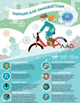 """У Львові відбудеться зимова акція """"Велосипедом на роботу!"""""""