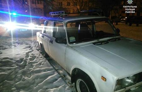 У Львові патрульні знайшли викрадений автомобіль