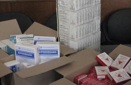 Громадська організація передала медикаменти для закладів охорони здоров'я на Львівщині