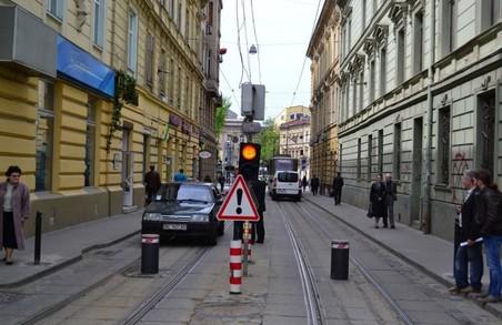 Через порушення правил в'їзду у центральну частину Львова, видають менше перепусток