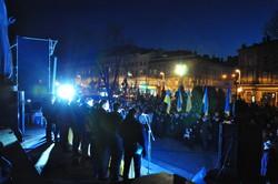 У Львові відбулось громадське віче до 3-ї річниці Революції Гідності (ФОТО)
