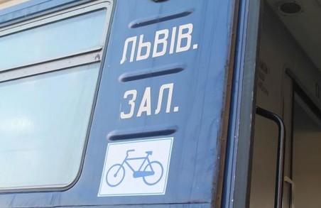 На Львівщині запустили перший в Україні веловагон