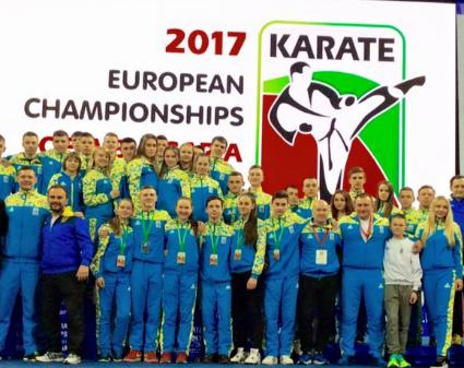 Львівські каратисти вибороли 5 медалей на молодіжному чемпіонаті Європи