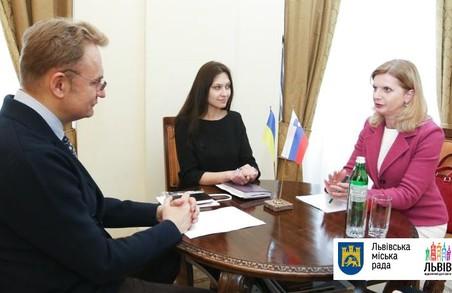 До Львова завітала Надзвичайний і Повноважний Посол Словенії в Україні Наташа Прах