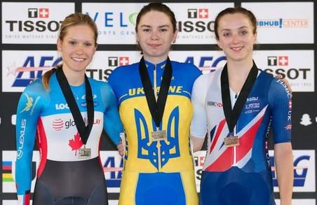 Львів'янка Тетяна Клімченко – переможниця етапу Кубку Світу з велоспорту