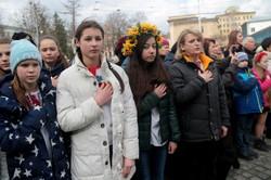 У Львові масовим співом вшанували пам`ять Михайла Вербицького (ФОТО)