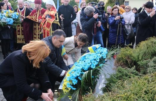 Загиблих у Другій світовій війні українців вшанували у Польщі (ВІДЕО)
