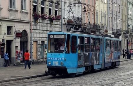 Тимчасово львівський трамвай №2 курсуватиме не за маршрутом