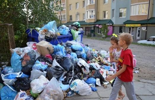 Львівське сміття продовжує накопичуватись