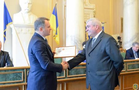 Синютка нагородив найсумлінніших комунальників Львівщини