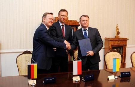 Львівщина співпрацюватиме із Польщею та Німеччиною